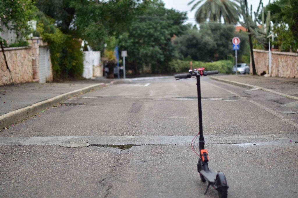 תאונת דרכים קורקינט חשמלי